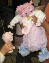 ゴン太がつくった人形
