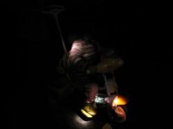 三輪車のライト