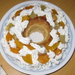 長女作ケーキ